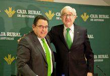 Fernando Martínez y José María Quirós. Caja Rural de Asturias
