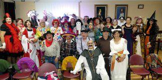 Asociación El Encuentro en una actividad de Carnaval en el Centro, el pasado mes de marzo