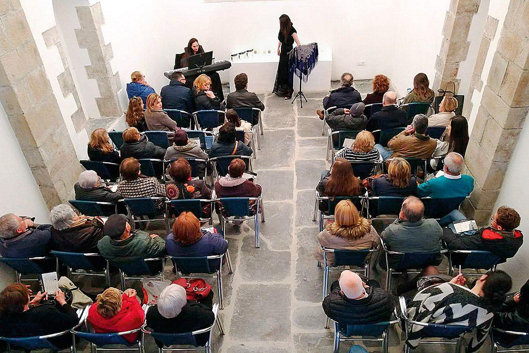 Concierto de Susana Gudín en el Centro Cultural Lebrón (Puerto de Vega, Navia)