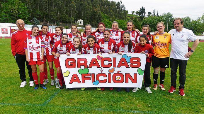 Equipo femenino del Navia Club de Fútbol
