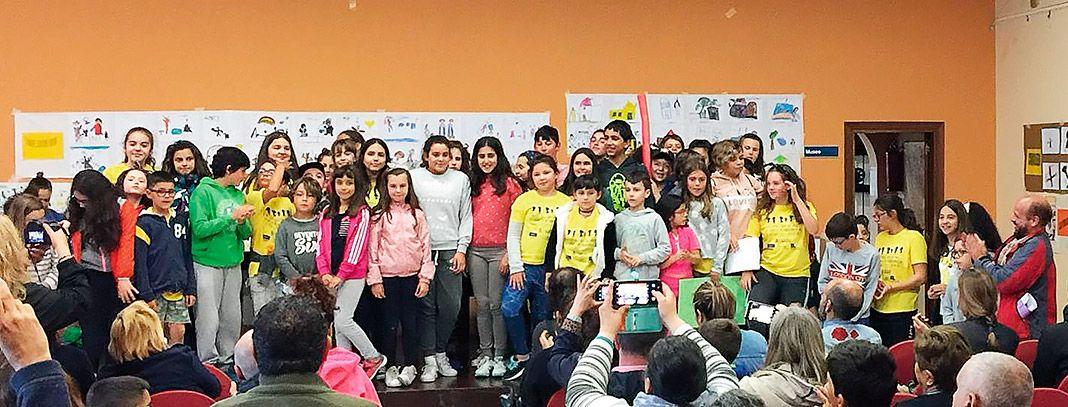 XII Encuentro Autonómico de Grupos de Participación Infantil celebrado en Navia