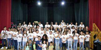 Alumnos y profesores de la Escuela de Música de Foz en el Festival de Fin de Curso