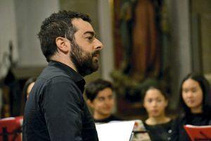 Felipe Sánchez, director de la Escuela de Música de Foz