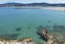 Vista parcial de la Playa de A Rapadoira Foz)
