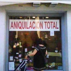 Aniquilación total