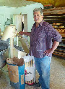Francisco Pérez, panadero de Boal