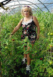 María Jesús González, agricultura y apicultora de Boal