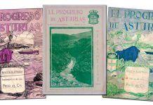 """Ejemplares de revistas """"El progreso de Asturias"""""""