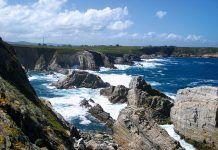 Vista de Cabo Blanco (El Franco)