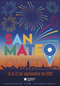 Cartel Fiestas de San Mateo de Oviedo