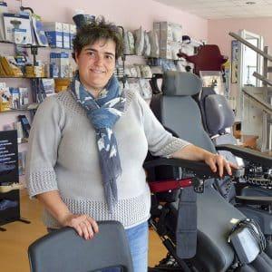 Mari Paz Sierra. Garmat Ortopedia y Ayudas Técnicas