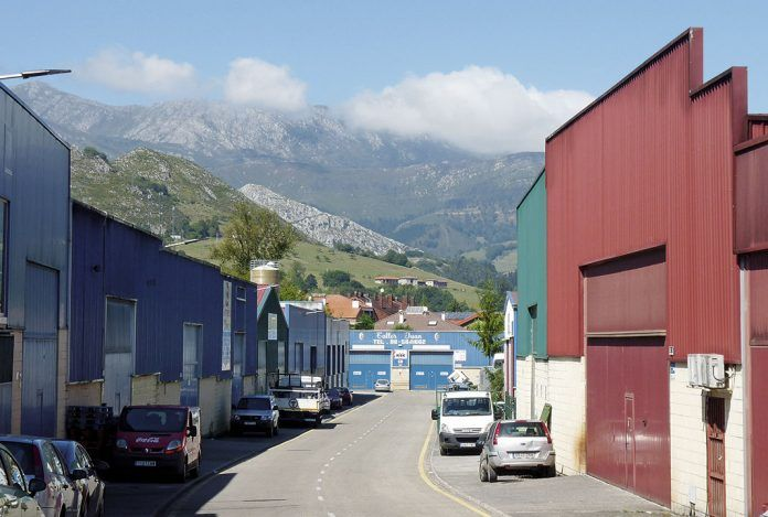 Polígono Industrial de Santa Rita. Parres