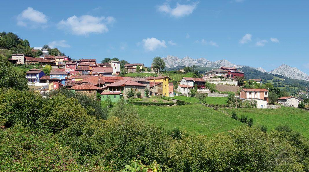 Vista de Muriellos, Riosa