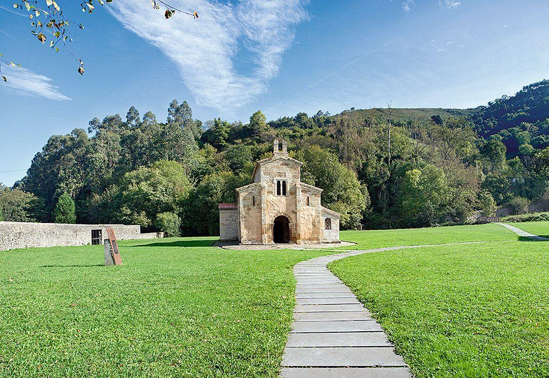 Monasterio de Santa María de Valdediós en Villaviciosa