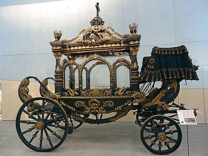 Colección de Carrozas Fúnebres de Barcelona, en el Cementerio de Montjuïc