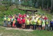 Día de la Asociación de Senderismo Terras de Lourenzá, en el área recreativa de A Cazolga (Lourenzá, Lugo)