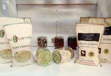 Distintas variedades de fabas en Lourenzá