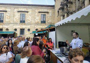 Imagen de la última edición de la Festa da Faba, celebrada en octubre, en Lourenzá (Lugo)