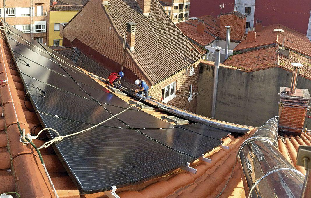 Instalación fotovoltaica en una comunidad de vecinos