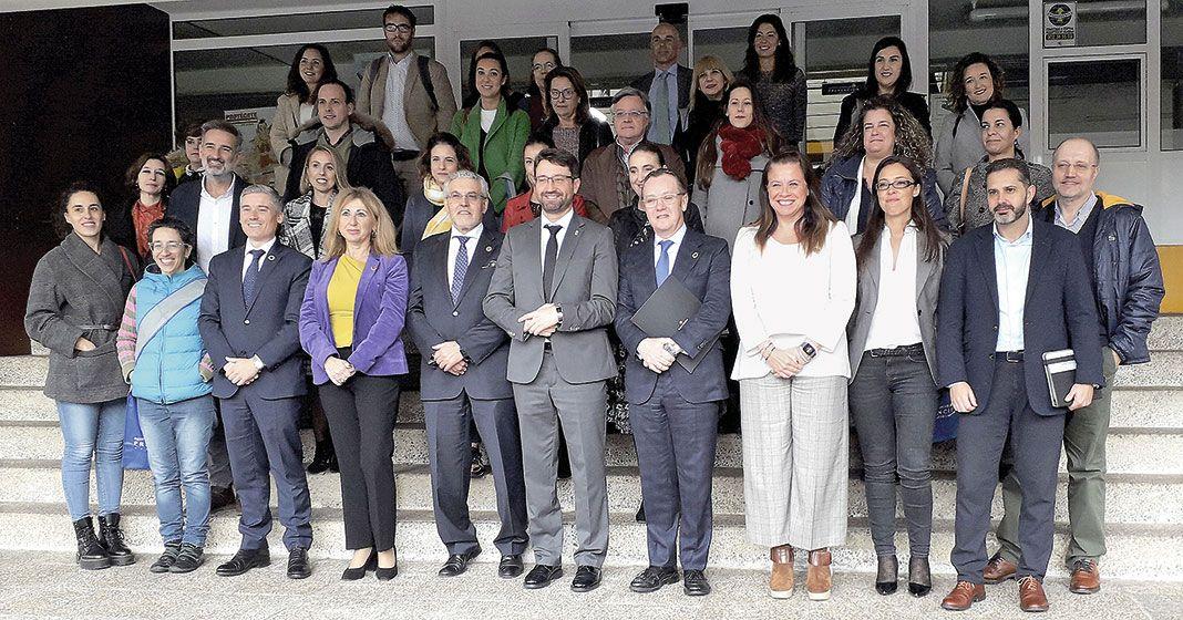Entrega de los diplomas a los nuevos miembros de la Red de Empresas Saludables, en noviembre de 2019