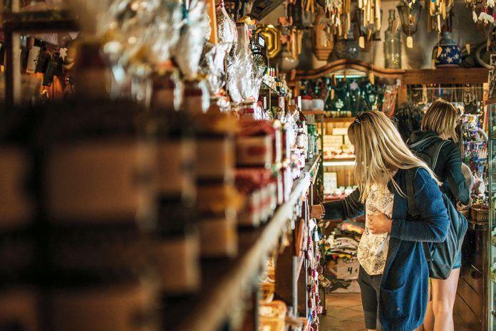 Comercio local, tienda de regalos