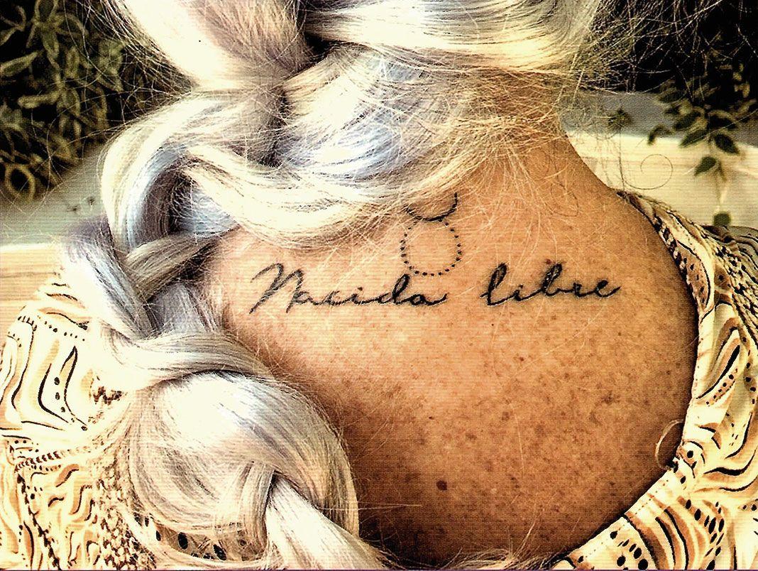Tatuaje Nacida Libre