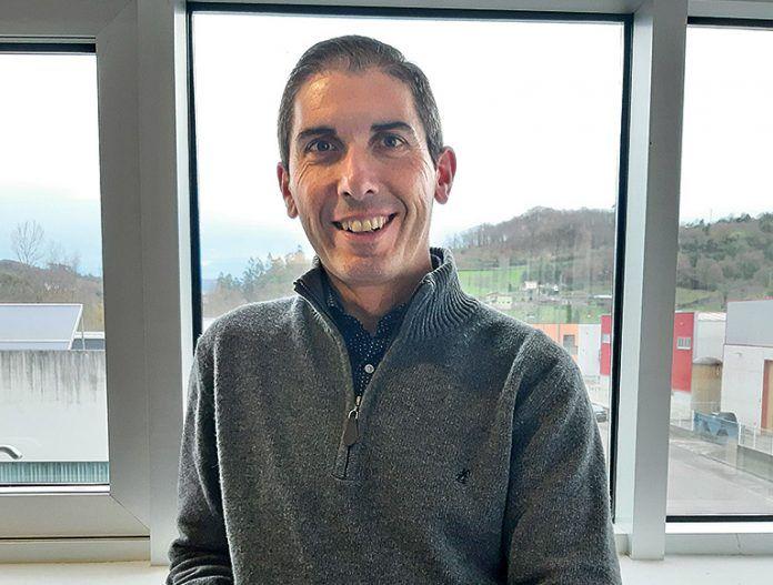 Alfonso Rodríguez, presidente de la Entidad de Conservación del Parque Empresarial de Argame (Morcín)