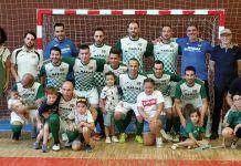 Plantilla, cuerpo técnico y directiva del Club Deportivo Monsacro-Mostayal