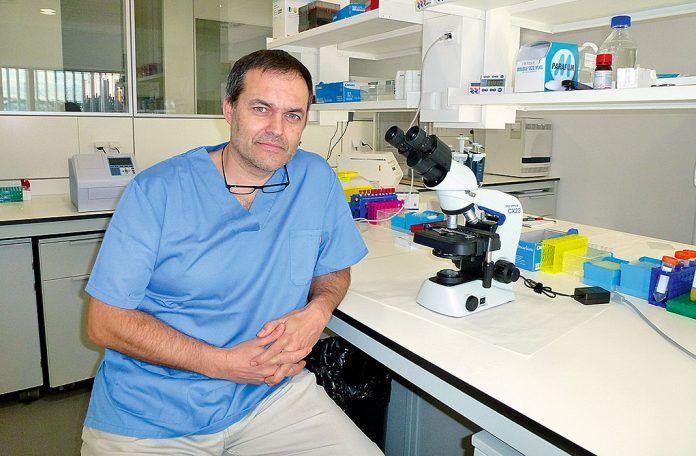 Alejandro Vázquez, Doctor en Bioquímica y Biología Molecular. Asturbiotech