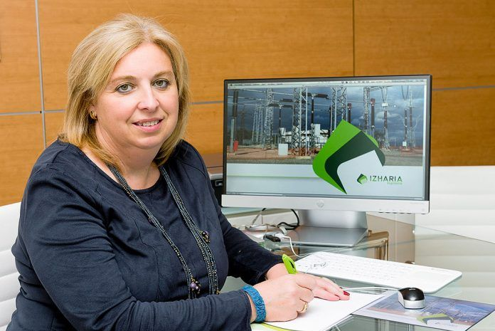 Isabel López Ferrer, empresaria, fundadora de Izharia