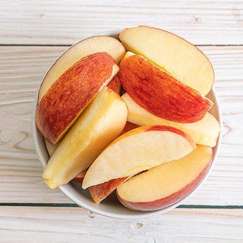 Manzanas cortadas