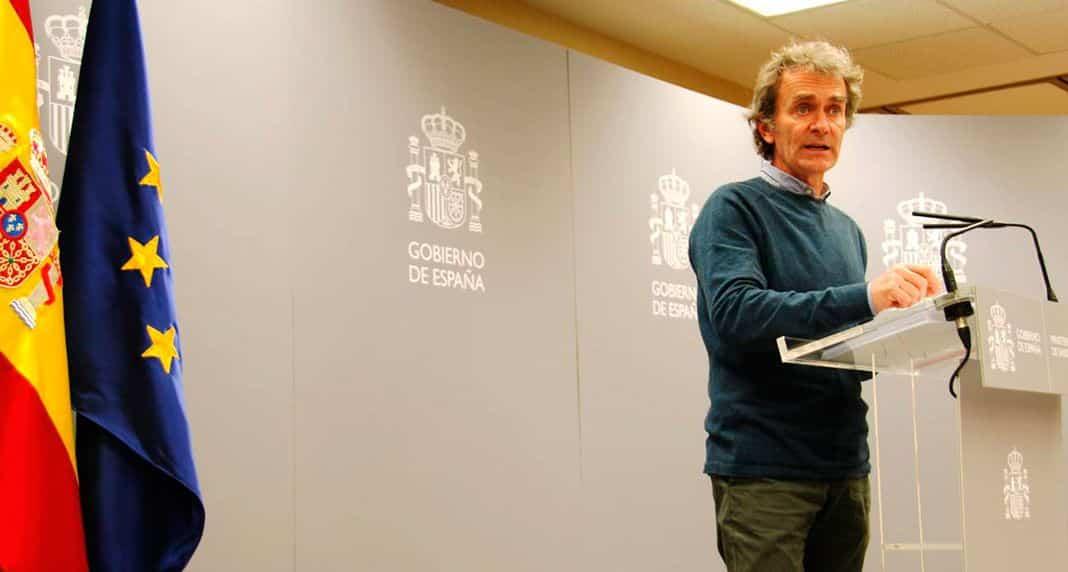 Fernando Simon, director del centro de Coordinación de alertas y emergencias sanitarias