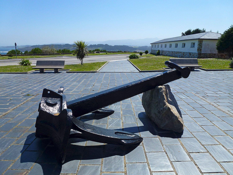 Monumento al Ancla, Ortiguera (Coaña) / Foto: Fusión Asturias