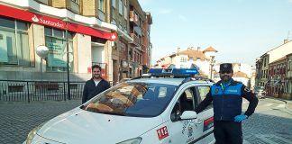 Raimundo García, Policía Local de Noreña