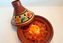 Shakshouka Tunecina, receta de Lara Roguez, del Restaurante Kraken (Gijón)