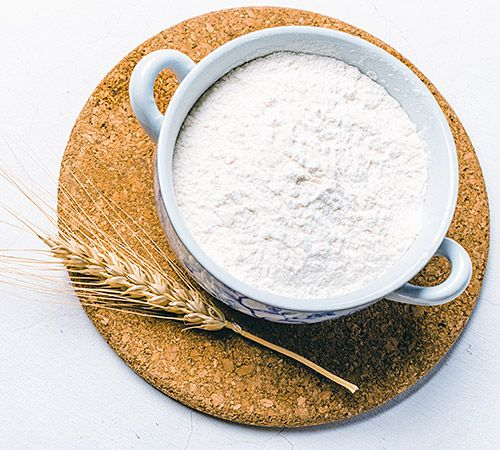 Cuenco de harina