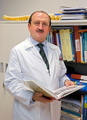 Doctor Braña, Presidente del Colegio de Médicos de Asturias