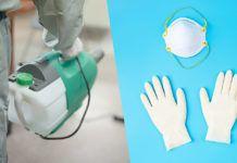 Material de protección contra el Coronavirus