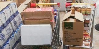 La Fraternidad de San Francisco ha acumulado más de veinte toneladas de comida en sus instalaciones