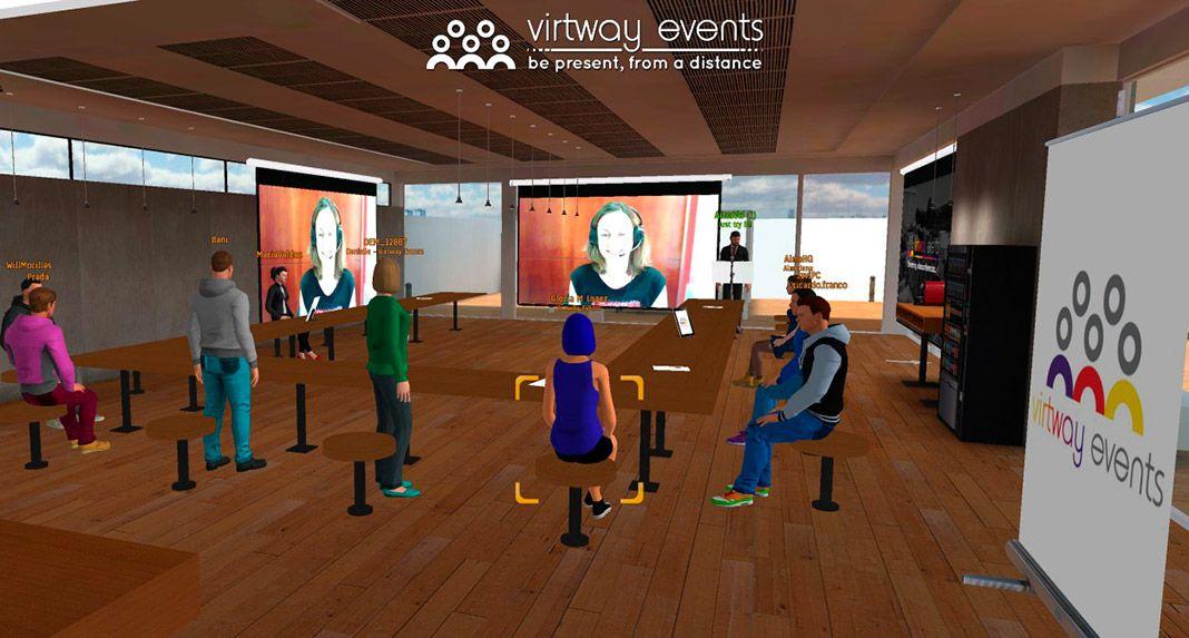 Reunión virtual creada por Virtway