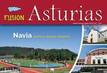 Revista Fusión Asturias Nº 303 - Agosto 2019. Navia estrena nuevos espacios