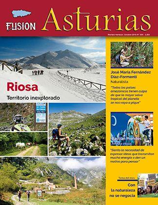 Revista Fusión Asturias nº 305 - Octubre 2019. Riosa, territorio inexplorado
