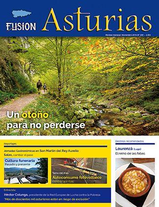 Revista Fusión Asturias nº 306 - Noviembre 2019. Un otoño para no perderse