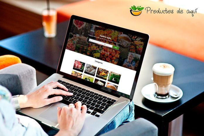 Compra de productos online. productosdeaqui.com