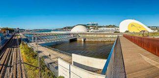 Panorámica del Centro Cultural Internacional Oscar Niemeyer