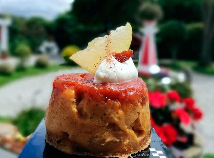 Pudding de confinamiento facilitado por la Pastelería Cabo Busto
