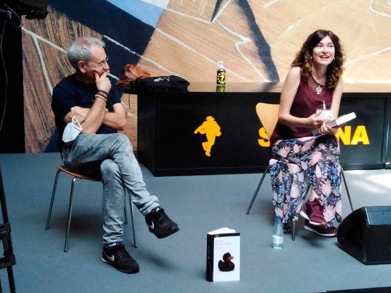 Ángel de la Calle y Susana Martín en la Semana Negra de Gijón 2020