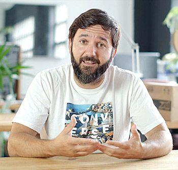 Daniel Suárez, empresario y presidente de la startup Zapiens
