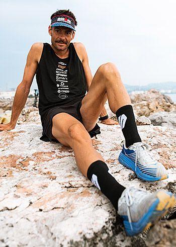 Luis Feliz Cepedal. Triatleta participante en el Ironman de Hawaii