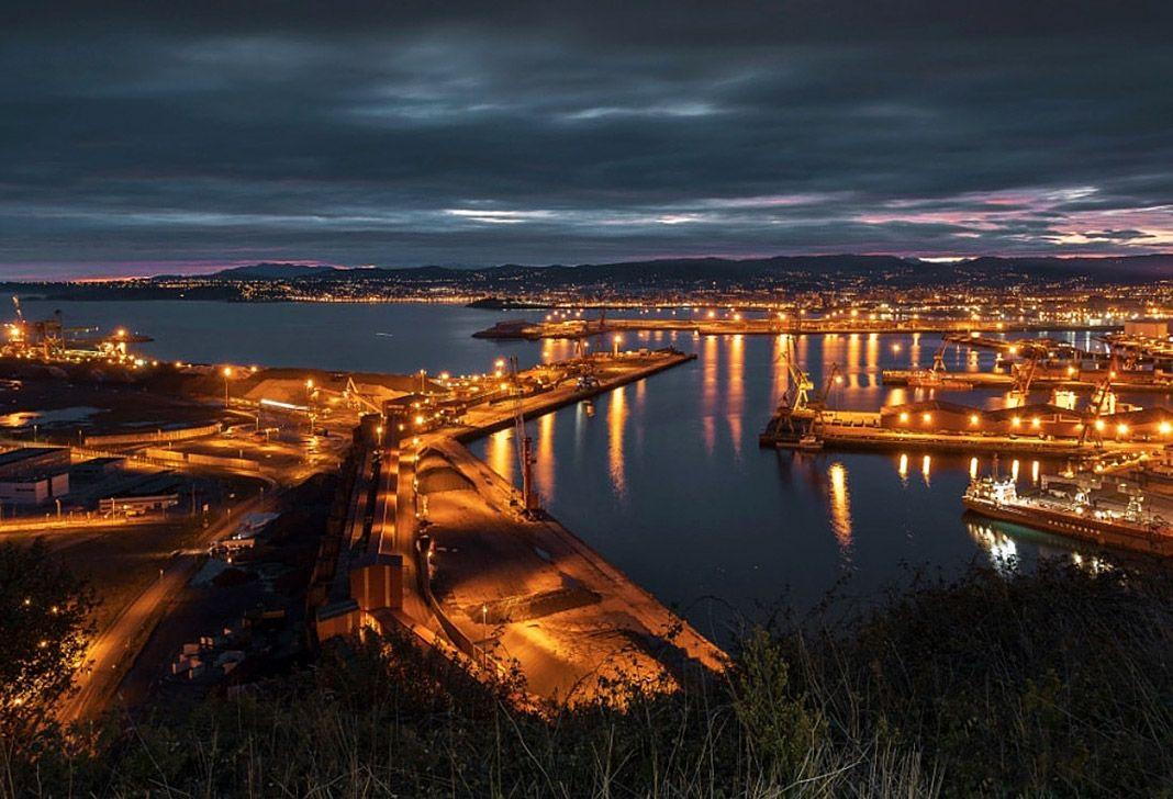 El Musel, puerto de Gijón